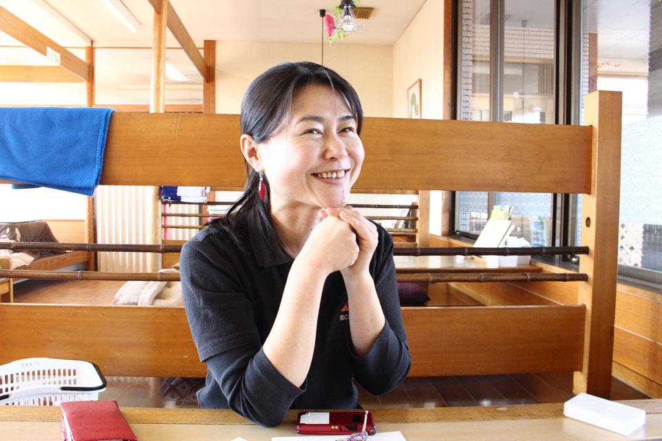 「さつまいも農カフェきらら」の代表・新谷梨恵子さん